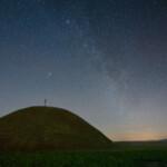 Sternenhimmel über dem Leeberg
